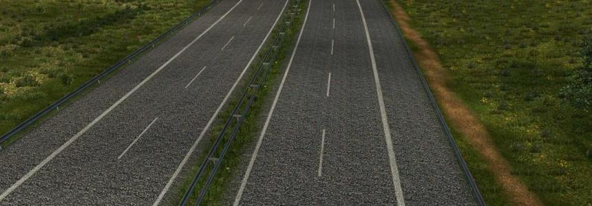 High Quality Road Textures 1.25.x