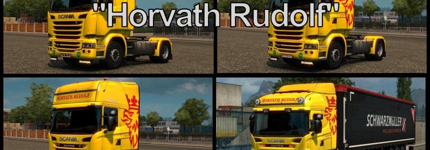 Horvath Rudolf Skinpack for Scania v1