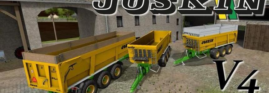 Joskin Trans Space 8000 23 Tridem v4.1 With WheelShader
