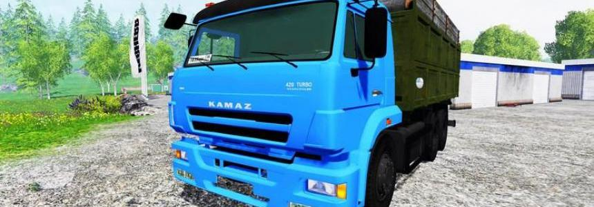 Kamaz 65117 Turbo Intercooler V1.0