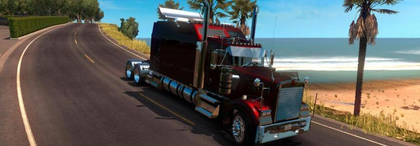 Kenworth W900 L Remix ATS v1.4 approved
