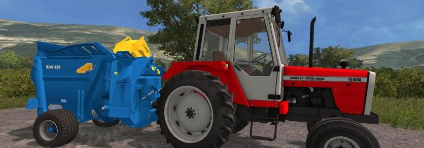 Kidd 450 Bale Shredder v1.0