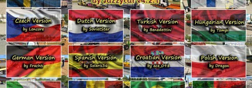 Language Pack for Trailers and Cargo Pack by Jazzycat v 4.2.1
