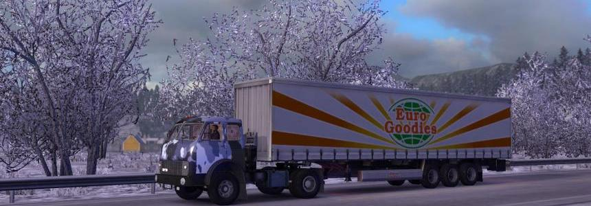MAZ-504B v2.0 + Trailer MAZ-938662-050 for v1.24.x