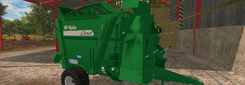 McHale C460 Straw Blower & Bale Feeder