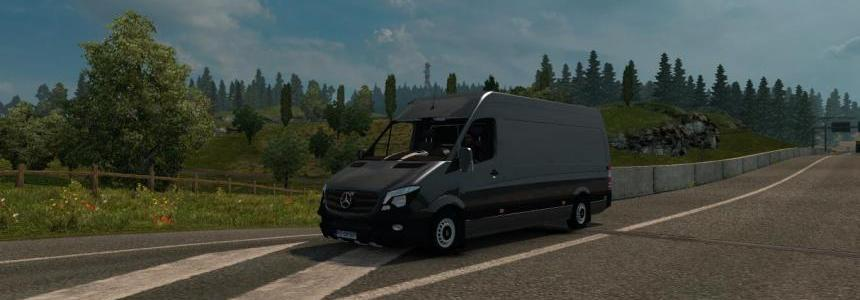 Mercedes Long Sprinter v1.23 By Klolo901