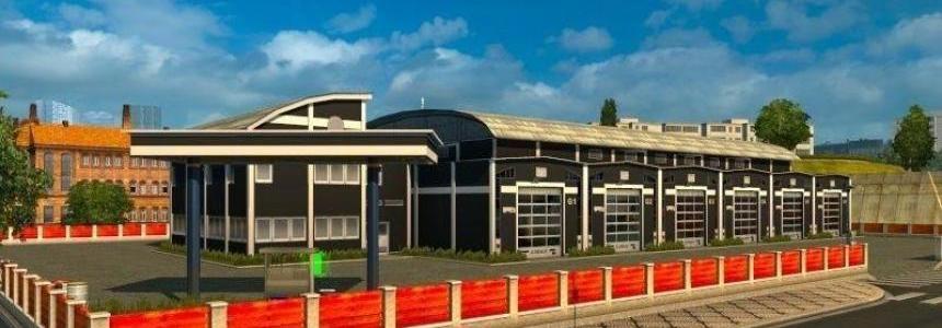 Modern Big Garage