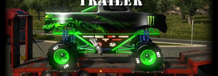 Monster Truck Trailer oversize v1.5