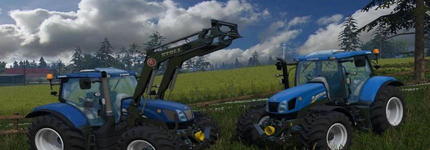 New Holland T6 175 by pawlo101299
