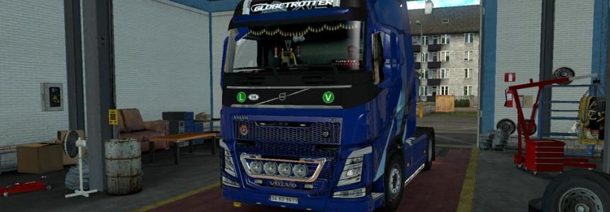 New Volvo FH16 Accessories + Interior v2.5 1.25x