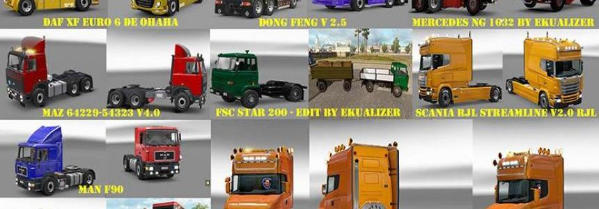 Pack 1 compatible trucks of Powerful Engines Pack v5.0