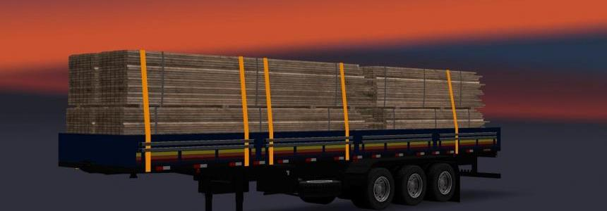 Pack de Reboques by Victor Rodrigues v1.1 for 1.25.x