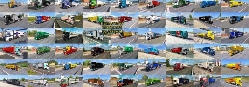 Painted Truck Traffic Pack by Jazzycat v2.3.1