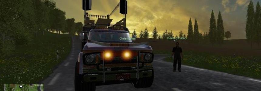 Partywagen Dodge v1.0