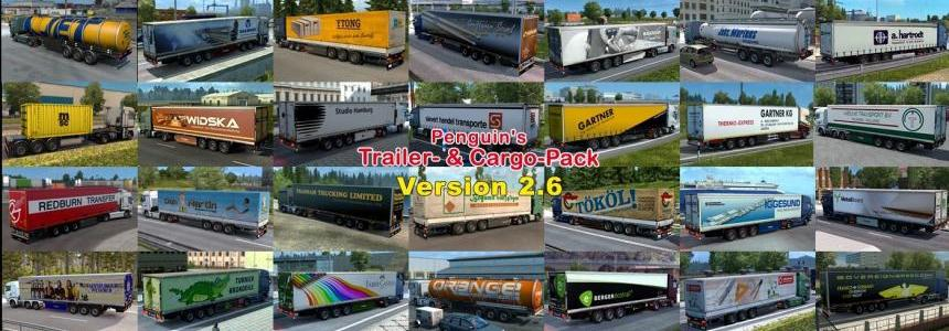 Penguins Trailer and CargoPack v2.6