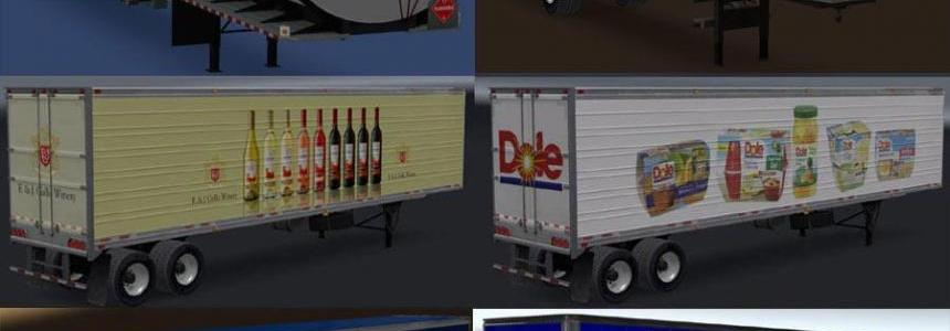 Real Companies & Trailers Pack v1.2