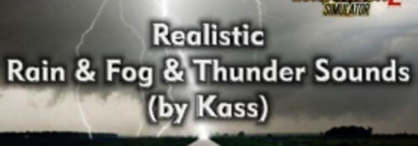 Realistic Rain & Thunder Sounds v1.2