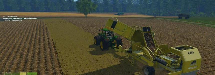 Ropa Tiger potato harvester v1.0