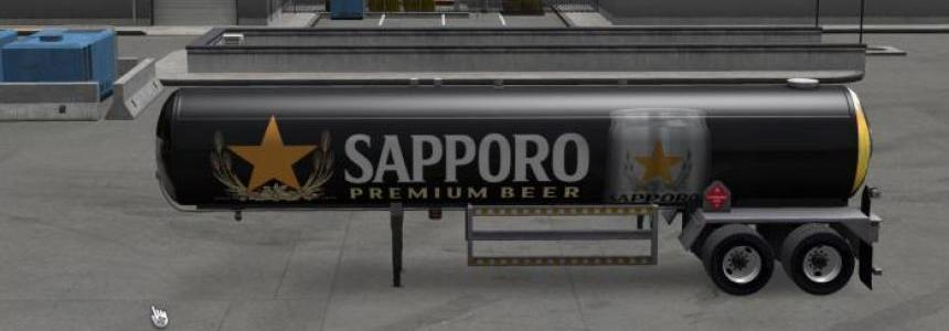 Sapporo Beer Stand Alone Trailer ATS 1.4.х - 1.4.1s