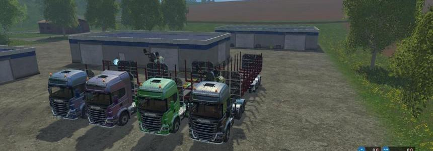 SCANIA 730 FOREST MegaPACK v1.0