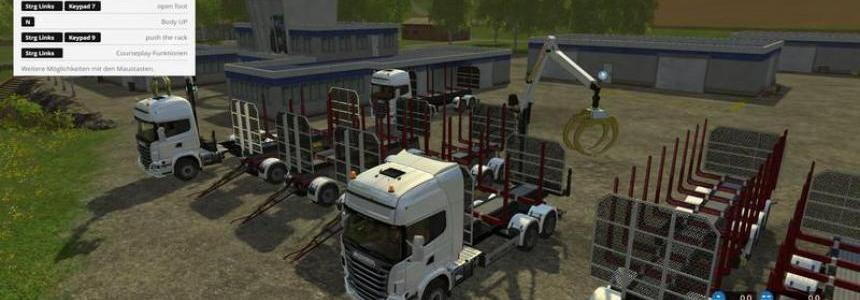 Scania 730 forestry Pack v1.1 stabileres Fahrverhalten