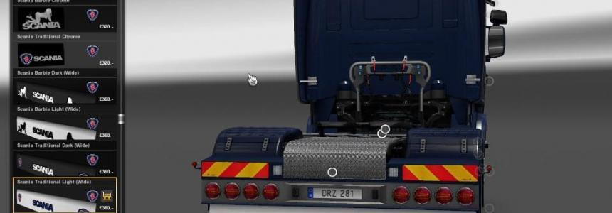 Scania Mudflap Pack v1.3