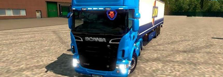 Scania R & Streamline Modifications [1.24 & Real Work 1.25]