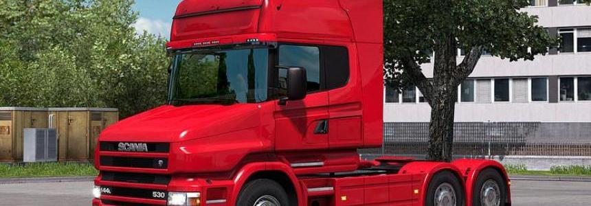 Scania T4 Series addon for RJL Scanias for ETS2 v1.25