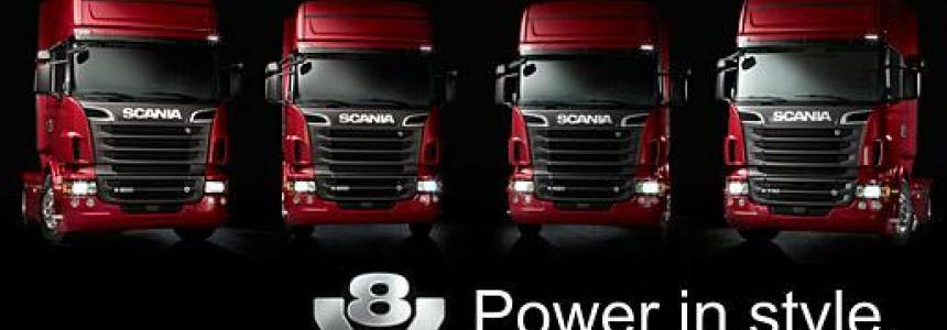 Scania V8 Real Sound 1.25
