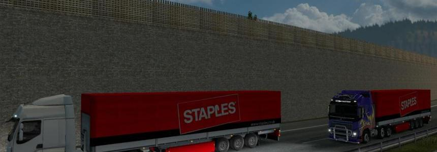 Staples Trailer with Cargoes 1.24x
