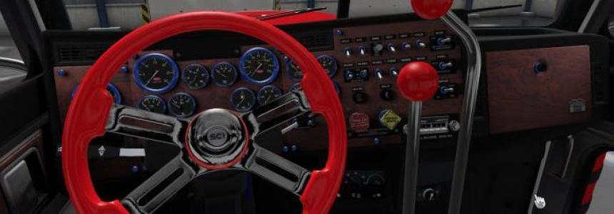 The shift lever to the Peterbilt 389 Modified v2.0.8 ATS