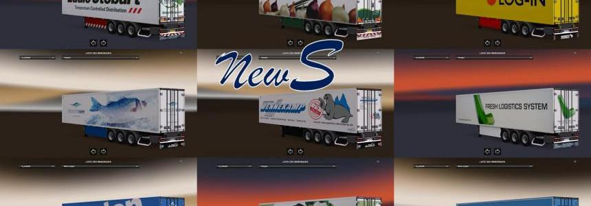 Trailer Pack Coolliner by NewS V1.25 1.25.x