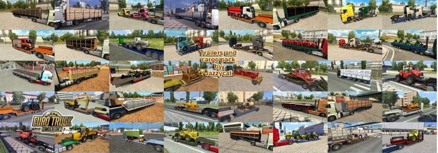 Trailers and Cargo Pack by Jazzycat v4.2.1