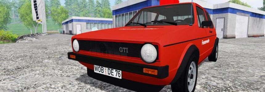 Volkswagen Golf I GTI feuerwehr v2.0