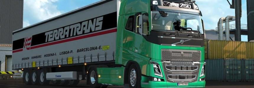 Volvo FH Stock Sound v2.0 1.23.x - 1.25.x