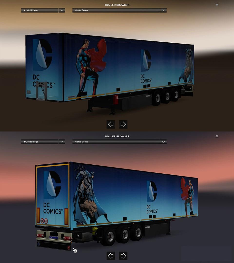 DC Comics Trailers Pack