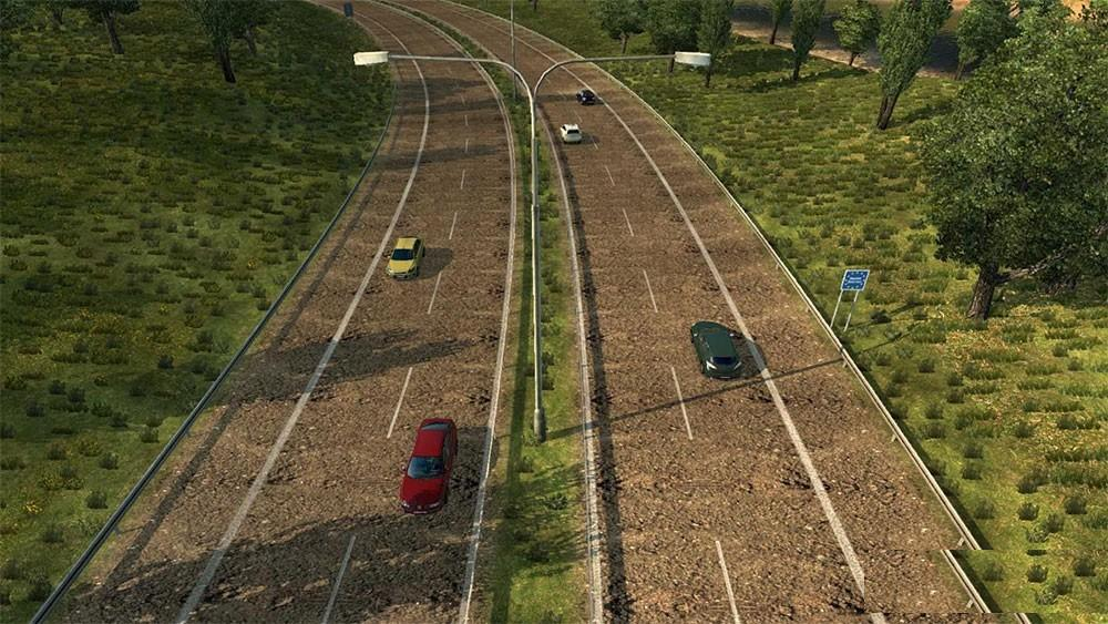 High Quality Road Textures (1.24 -1.25)