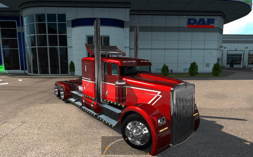 Kenworth Hotw9 Phantom + PPC + New Engines for ETS2 1.25