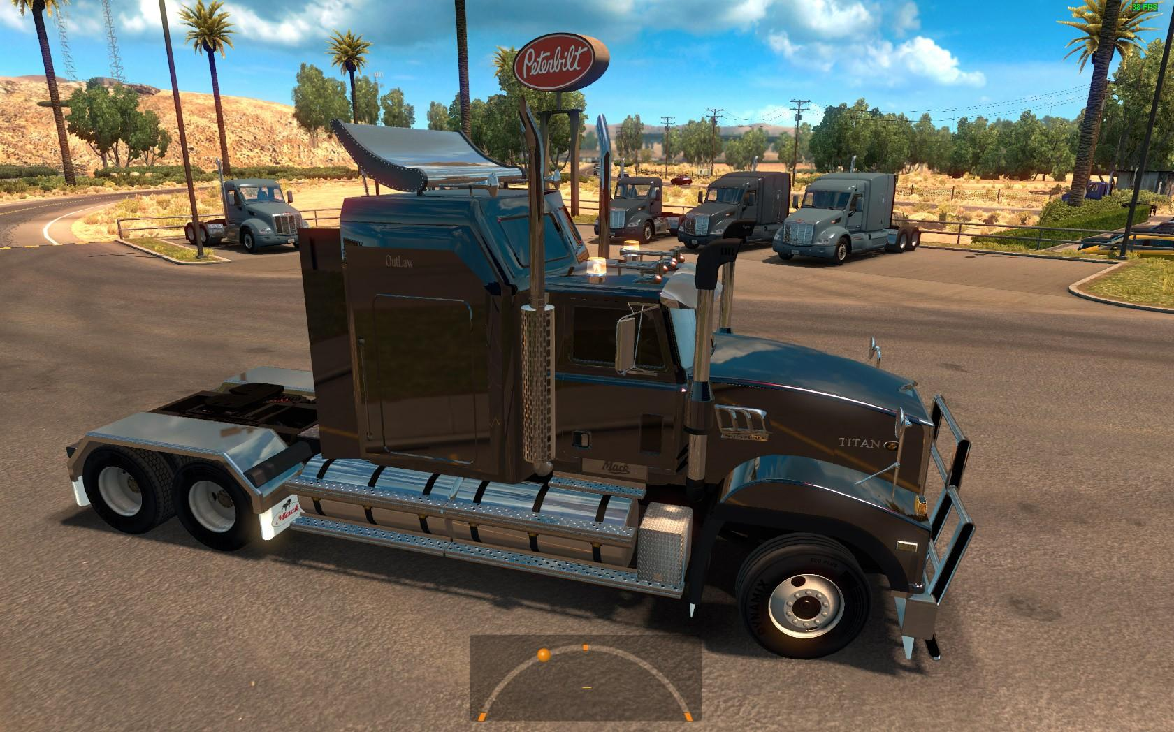 Mack Titan for ATS 1.3.x Fixed