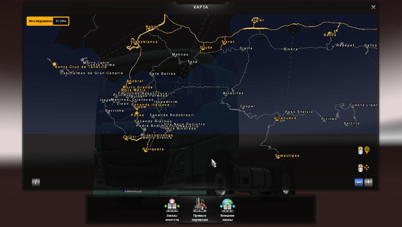 Map Eldorado Rodobrasil FREE for promods v2.11