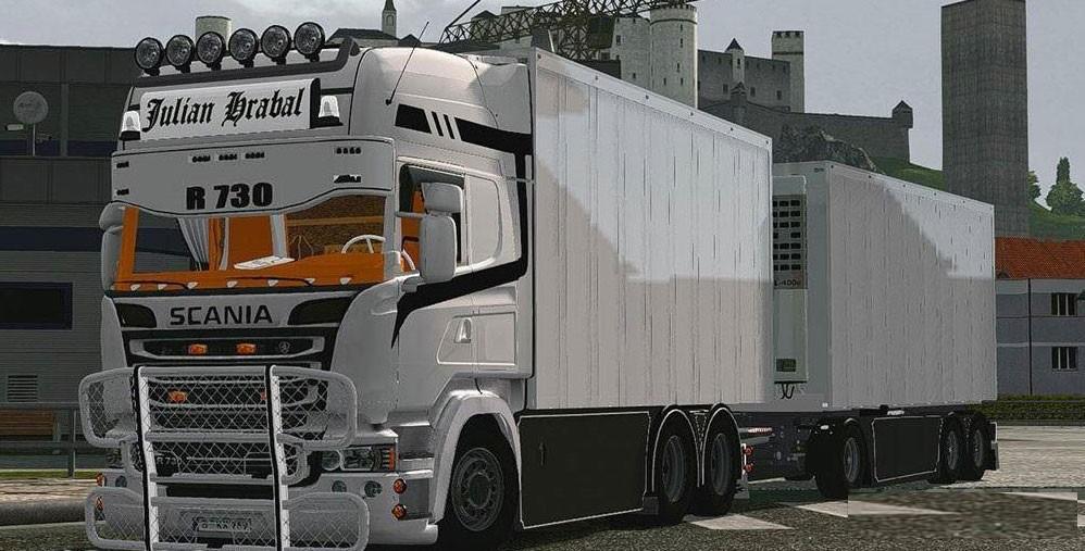 Scania Streamline Tandem V1.25