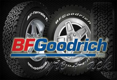 BFGoodrich Tyres Pack for ATS