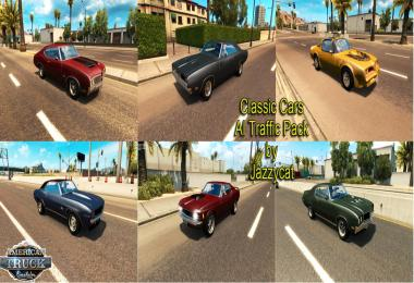 Classic Cars AI Traffic Pack by Jazzycat v1.1.1