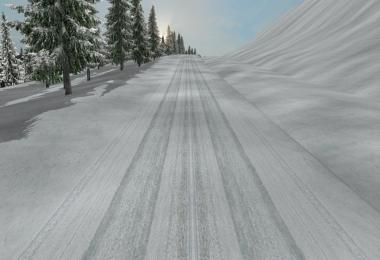 Dalton and Elliot Hwy Extreme Winter Map v1.1