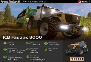 Farming simulator 17 Fact Sheet #13