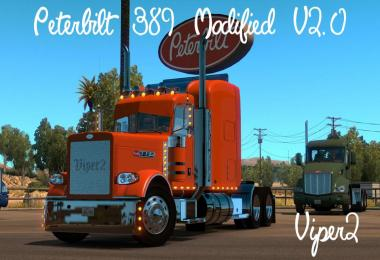 Modified Peterbilt 389 ATS v2.0.8