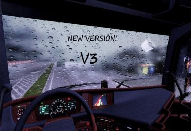 Realistic Rain and Sound for 1.25 by SimR v3.0