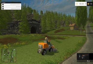 Riding mower Husqvarna v1.0