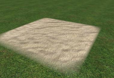Sand, gravel, asphalt and dirt textures v1.0