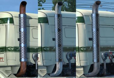 Single highpipe for all RJL's Scanias UPDATED!
